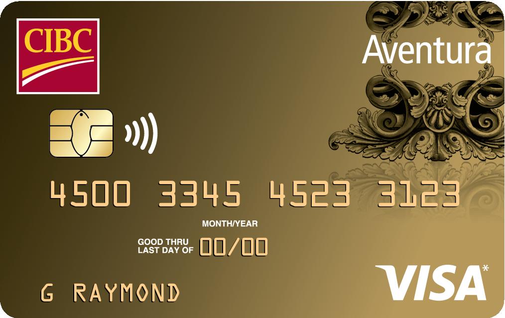 CIBC Aventura® Gold Visa* | CIBC Centre