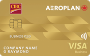 CIBC Aeroplan® Visa* Business Plus Card