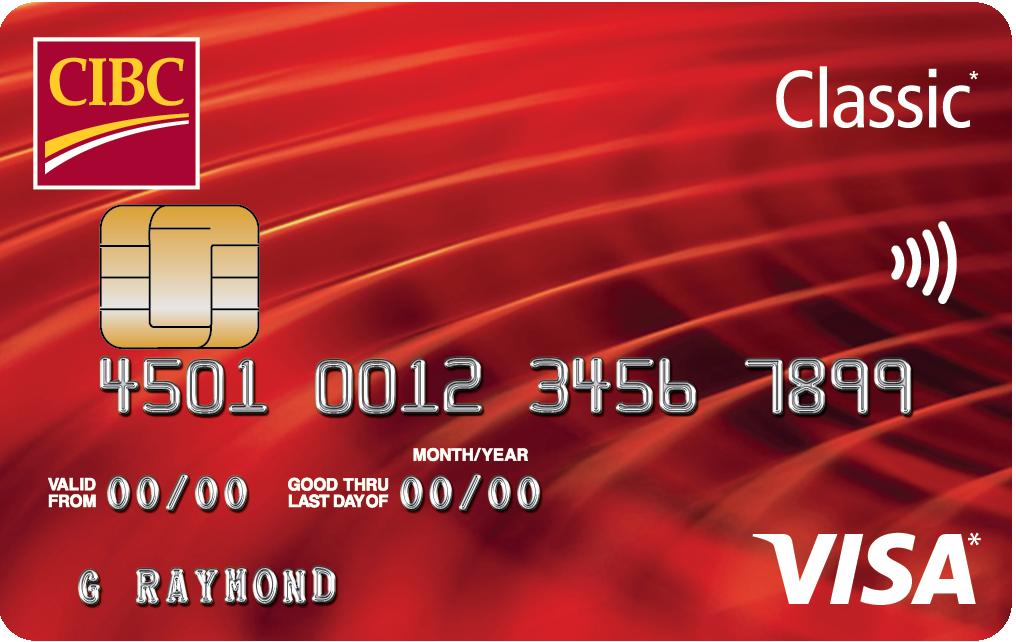 CIBC Classic Visa™ | CIBC Centre