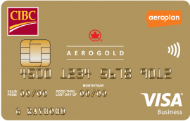 CIBC Aerogold® Visa* Card for Business