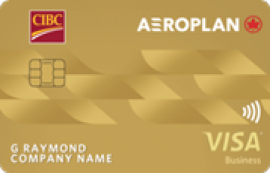CIBC Aeroplan® Visa* Business Card